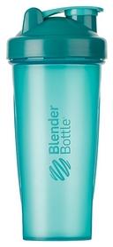 Шейкер с шариком BlenderBottle Classic - бирюзовый, 820 мл (Classic 28oz Teal)