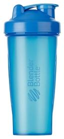 Шейкер с шариком BlenderBottle Classic - голубой, 820 мл (Classic 28oz Cyan)