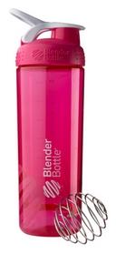 Шейкер с шариком BlenderBottle Sleek Agua - розовый, 820ml/28oz (Sleek_Pink)