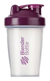 Шейкер с шариком BlenderBottle Classic - прозрачный-фиолетовый, 590 мл (Classic 20oz Trans/Plum)