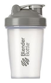 Шейкер с шариком BlenderBottle Classic - прозрачный-серый, 590 мл (Classic 20oz Trans/Grey)