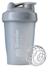 Шейкер с шариком BlenderBottle Classic - серый, 590 мл (Classic 20oz Grey)