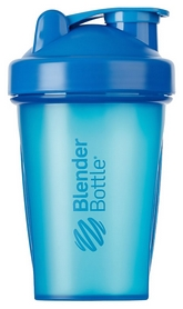 Шейкер с шариком BlenderBottle Classic - голубой, 590 мл (Classic 20oz Cyan)