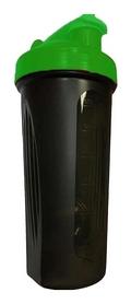 Шейкер с шариком  Shake Bottle - черно-зеленый, 700 мл (SB 700ml Black-Green)