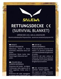 Одеяло спасательное (термоодеяло) Salewa Rescue Blanket 2380 0999 - Uni (013.003.0602)