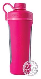 Шейкер с шариком BlenderBottle Radian Glass - розовый, 820 мл (Glass_Pink)