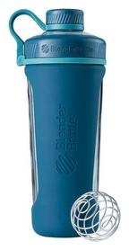 Шейкер с шариком BlenderBottle Radian Glass - бирюзовый, 820 мл (Glass_Sea)