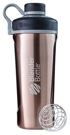 Шейкер с шариком BlenderBottle Radian Thermo Edelstahl - коричневый, 770 мл  (Edelstahl_Copper)