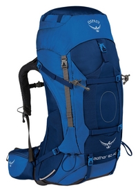 Рюкзак туристический Osprey Aether AG 85 Neptune Blue - MD - синий, 85 л (009.1502)