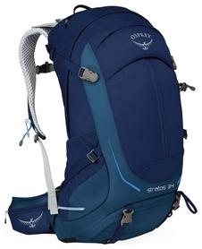 Рюкзак туристический Osprey Stratos 34 Eclipse Blue S/M - синий, 32 л (009.1472)