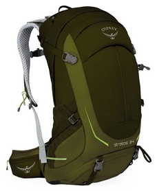 Рюкзак туристический Osprey Stratos 34 Gator Green - M/L - зелений, 32 л (009.1475)