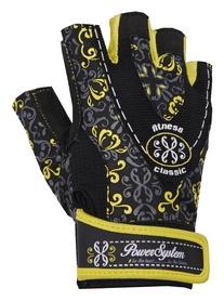Перчатки атлетические женские Power System Classy PS-2910, черно-желтые (PS_2910_Black/Yellow)