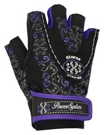 Перчатки атлетические женские Power System Classy PS-2910, черно-фиолетовый (PS_2910_Black/Purple)