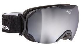 Очки горнолыжные Alpina Pheos MM S3, черные (A7214-36)