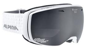 Очки горнолыжные Alpina Estetica MM S3, белые (A7246-11)