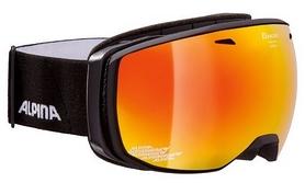 Очки горнолыжные Alpina Estetica MM S2, черные (A7246-31)