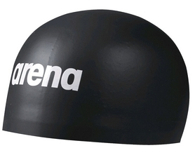arena Шапочка для плавания Arena 3D Soft Black (000400-501)