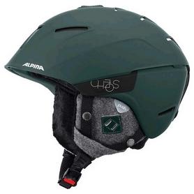 Шлем горнолыжный женский Alpina Cheos, зеленый (A9058-73)