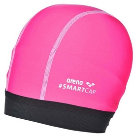 Шапочка для плавания Arena SmartCap Junior Fluo Pink 000401-100 (3468335892863)