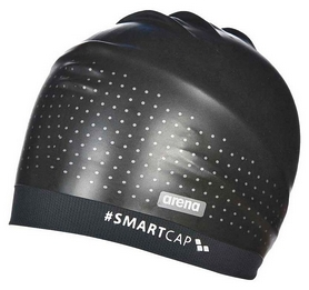 Шапочка для плавания Arena SmartCap Training Black 000403-500 (3468335892917)