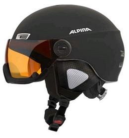 Шлем горнолыжный Alpina Menga JV, черный (A9061-31)