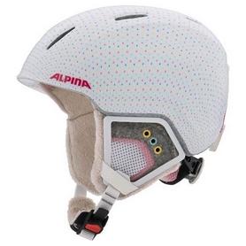 Шлем горнолыжный детский Alpina Carat XT, белый (A9080-11)
