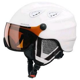 Шлем горнолыжный Alpina Grap Visor HM, белый (A9093-10)