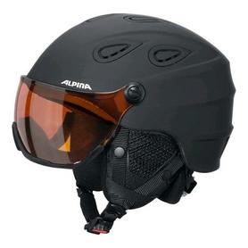 Шлем горнолыжный Alpina Grap Visor HM, черный (A9093-30)