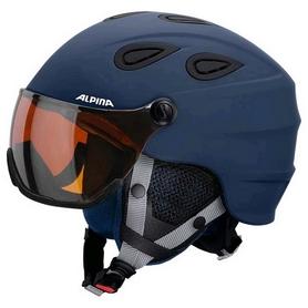 Шлем горнолыжный Alpina Grap Visor HM, синий (A9093-82)