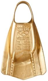 Ласты женские Arena Powerfin Pro, золотые (1E207-300) - Фото №3