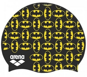 Шапочка для плавания Arena Super Hero Cap Batman 001553-500, желтая (3468336087633)