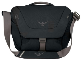 Сумка городская Osprey Flap Jack Courier Black O/S, 20 л (009.1288)