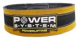 Пояс тяжелоатлетический PowerSystem PS-3840 StrongLift, черно-желтый (PS_3840_Black/Yellow)