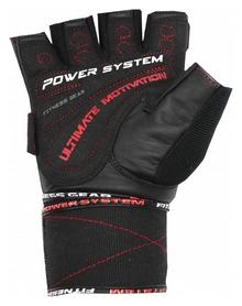 Перчатки атлетические Power System Raw Power PS-2810, черно-красный (PS_2810_Black/Red) - Фото №2