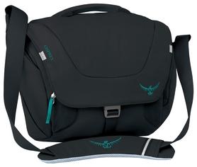 Сумка городская Osprey Flap Jill Mini Black O/S, черная, 9 л (009.1291)