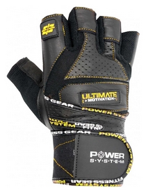 Перчатки атлетические Power System Raw Power PS-2810, черно-желтый (PS_2810_Black/Yellow)