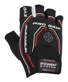 Перчатки атлетические Power System Basic Pro Grip EVO PS-2250, черные (PS_2250E_Black)