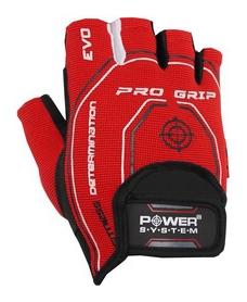 Перчатки атлетические Power System Basic Pro Grip EVO PS-2250, красные (PS_2250E_Red)