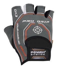 Перчатки атлетические Power System Basic Pro Grip EVO PS-2250, серые (PS_2250E_Grey)