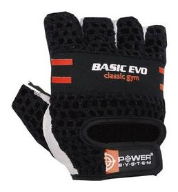 Перчатки атлетические Power System Basic EVO PS-2100, черно-красные (PS_2100E_Black/Red)