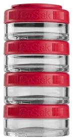 Контейнер для спортивного питания BlenderBottle GoStak 4 Pak - красный, 4х40 мл (GS 4 Pak- 4 * 40ml Red)