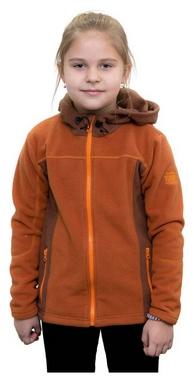 Кофта флисовая детская Turbat Lysychka, коричневая (012.004.012-BR)