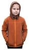 Кофта флисовая детская Turbat Lysychka, коричневая (012.004.012-BR) - Фото №2