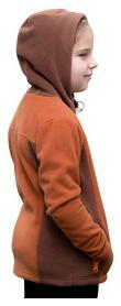 Кофта флисовая детская Turbat Lysychka, коричневая (012.004.012-BR) - Фото №3