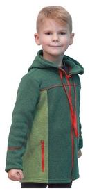 Кофта флисовая детская Turbat Snigur, зеленая (012.004.012-GN)