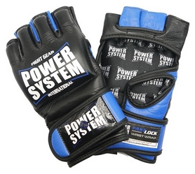 Перчатки для MMA Power System PS-5010 Katame EVO, синие (PS_5010_Blue)