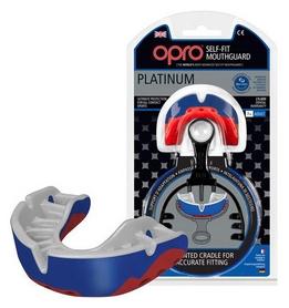 Капа Opro Platinum, синяя (002197001)