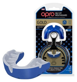 Капа Opro Gold, синяя (002193002)