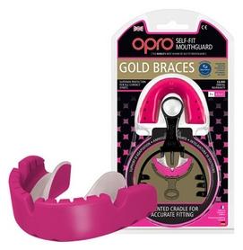 Капа Opro Gold Braces, розовая (002194003)