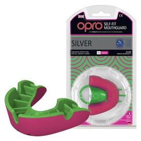 Капа Opro Silver, розовая (002189004)